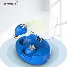 Słuchawki Bluetooth słuchawki basowe słuchawki sportowe bezprzewodowy zestaw słuchawkowy podwójny mikrofon Mini douszny wodoodporny gamingowy zestaw słuchawkowy