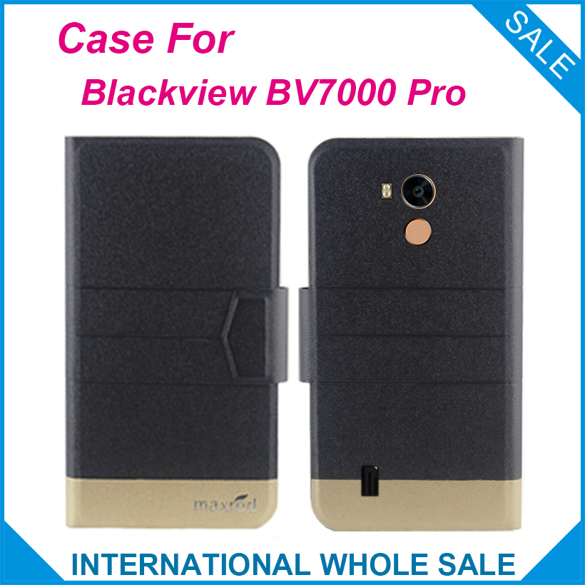 5 Χρώματα Factory Direct! 2017 Blackview BV7000 Pro Case New Arrival Flip Leather Exclusive Case για Blackview BV7000 Pro