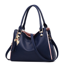 MONNET CAUTHY Female Handbags Elegant Office Ladies Fashion Totes Solid Color Wine Red Yellow Pink Black Deep Blue Crossbody Bag