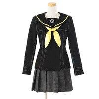 2016 Shin Megami Tensei Persona 4 The Animation Yukiko Amagi Kujikawa Rise Girl School Uniform Cosplay