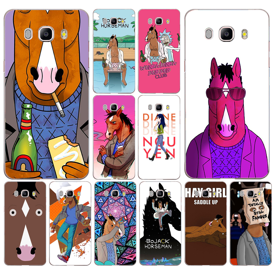 046fg Bojack Horseman Soft Silicone Tpu Cover Phone Case For Samsung J3 J5 J7 2016 2017 J330 J2 J6 Plus 2018
