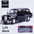 1:32 aleación tire volver modelos de coches, metal funde, vehículos de juguete, coche clásico modelo de taxi de londres, envío gratis