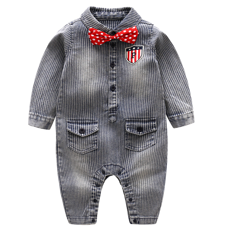 ba85243508f1 Baby Boy Gentleman Clothes Set Summer Suit For Toddler Kid Formal ...