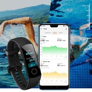 Image 5 - Pulsera inteligente Honor Band 4, pulsera inteligente deportiva resistente al agua, dispositivos de seguimiento de actividad en tiempo Real (estándar)
