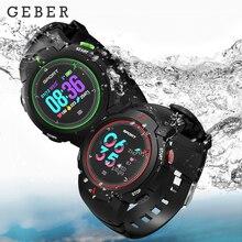 IP68 F13 Bluetooth Inteligente Relógio Do Esporte Real À Prova D' Água Multi-modo esporte natação Empurre Mensagem rastreador De Fitness Esporte Smartwatch