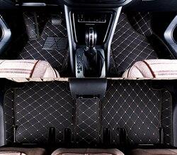 Beste kwaliteit! Custom speciale auto vloermatten voor Honda CR-V 2016-2012 waterdicht antislip tapijten tapijten voor CRV 2013, gratis verzending