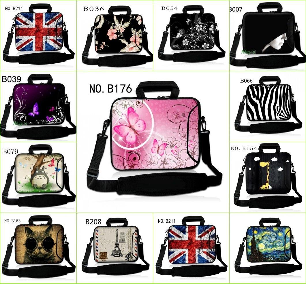 Colorful Man & Women Laptop Soft Shoulder Bag Case Handbag for 10.1 11.6 12 13 13.3 14 15 15.6 17 17.4 Universal HP Dell Acer PC