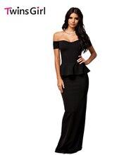 Новый 2107 Женщины Dress 3 Цвета Сексуальная Баски Dress With с плеча Макси Dress LC6244 плюс размер M-XXL Party Dress Vestidos