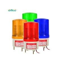 цены 110V 220V DC 12V 24V Industrial Signal Sound Alarm Light Rotary Strobe Flash Siren Emergency Warning Lamp