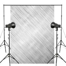 5x7ft Abstract Brushed Metal Photography Backdrops Gray Line Backdrop Art Photo Studio Background Wall