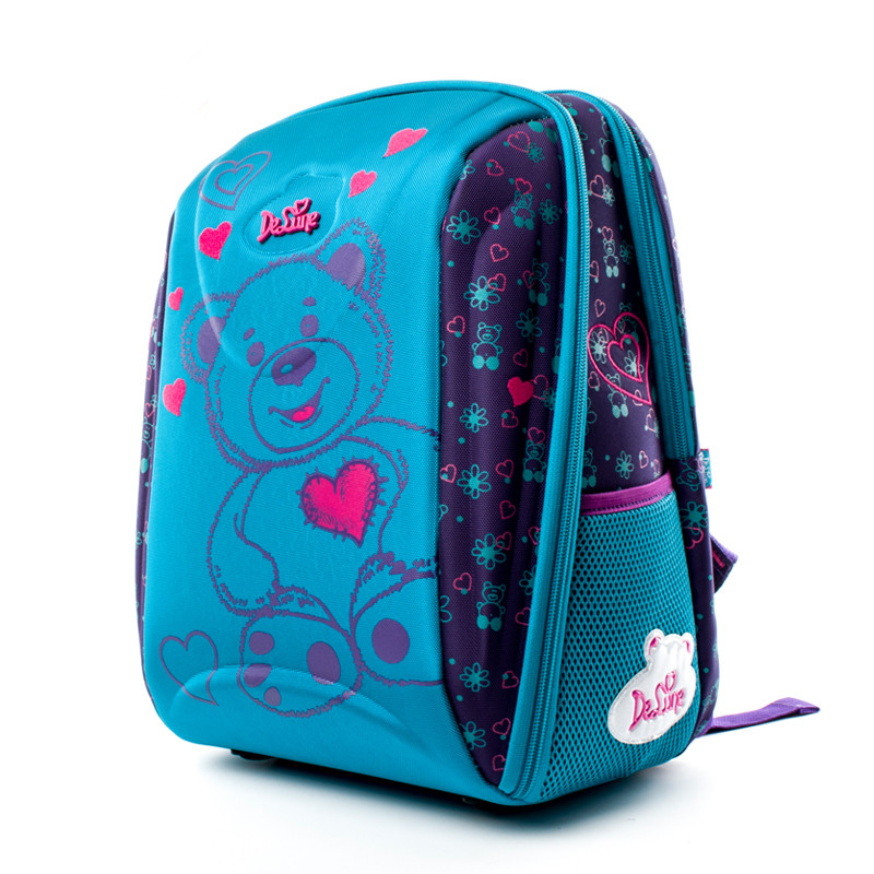 Delune Brand Kids Fashion 3D Cartoon School bags 1-3 Grade Children 7-102 Orthopedic School Backpacks for Girls Boys SchoolbagsDelune Brand Kids Fashion 3D Cartoon School bags 1-3 Grade Children 7-102 Orthopedic School Backpacks for Girls Boys Schoolbags