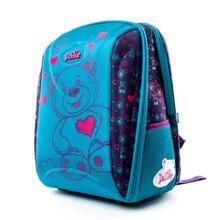 ad990e92a7fec Delune العلامة التجارية الاطفال أزياء 3D الكرتون الحقائب المدرسية 1-3 الصف  الأطفال 7-102 العظام المدرسة حقيبة ظهر للفتيات الأولا.