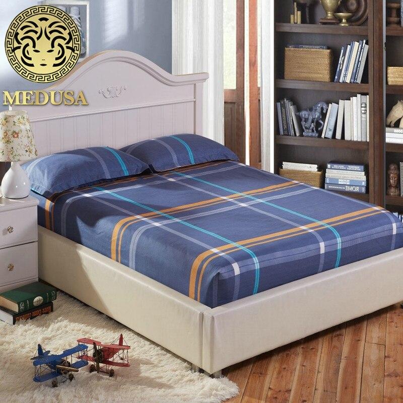 Medusa paski / gwiazdki nowocześnie wyposażone poszewki na poduszki podwójny pełny rozmiar twin 3 sztuki zestaw pościeli