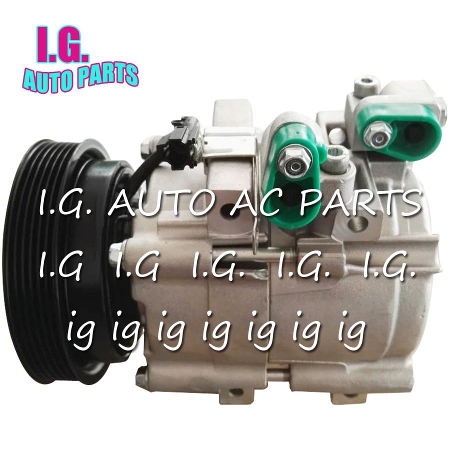 Ac компрессор для автомобиля Hyundai Santa Fe 2.0 2.7 V6 2.5 V6 Trajet 2.0 2.7 V6 XG 250 9770126200 9770126300 9770139181 977013a470