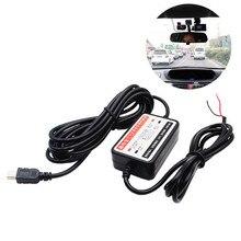 12V-24V to 5V Mini USB DC Car Charger Hard wire Kit for