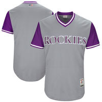 MLB Men S Colorado Rockies Baseball Gray 2017 Players Weekend Authentic Team Jersey