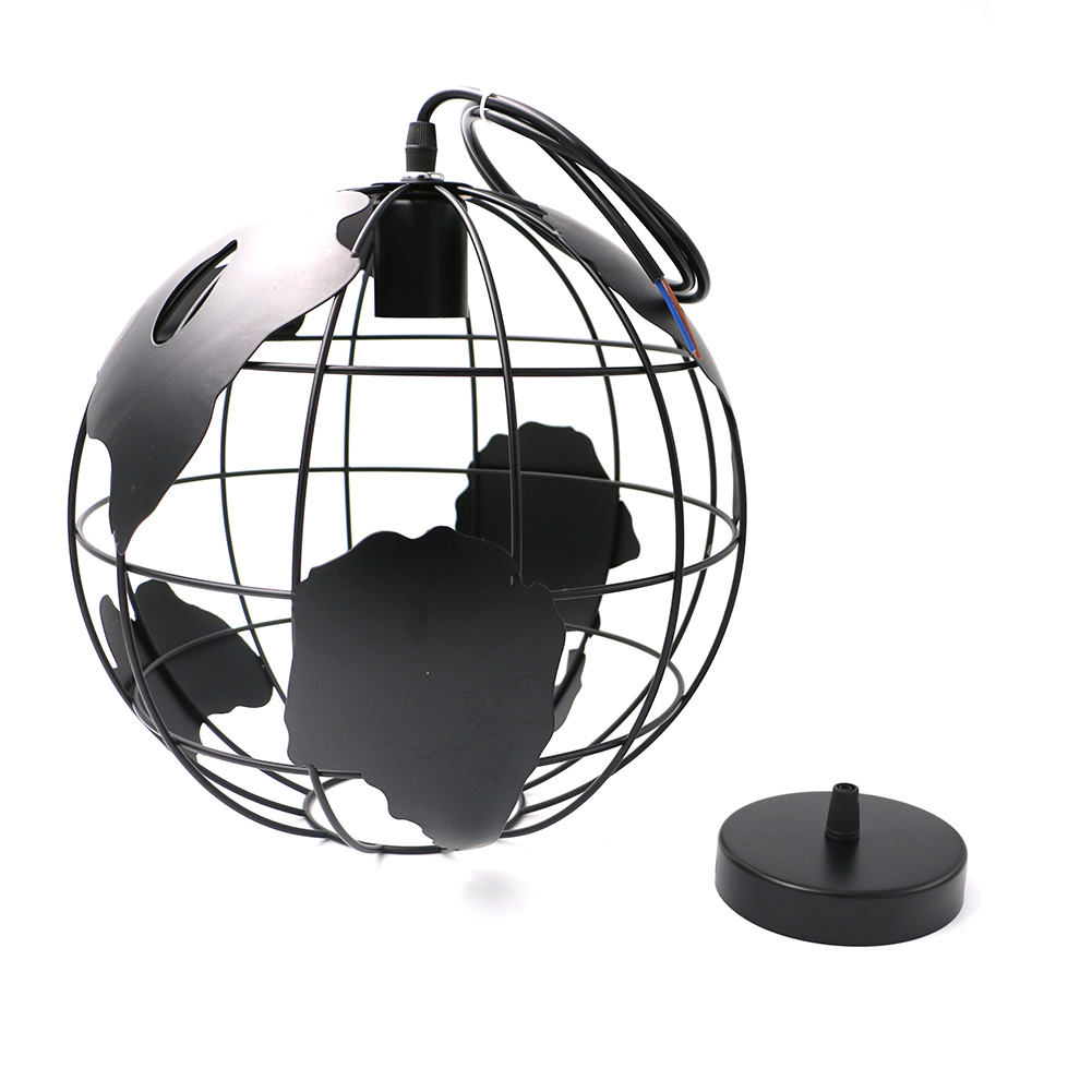 Art Carved Hollow Globe Pendant Lights Black/White Color Pendant Lamp Hollow Ball Pendant Lamps Fixture Home Deco 110V-250V modern globe pendant lights black white color pendant lamps for bar restaurant hollow ball ceiling fixtures
