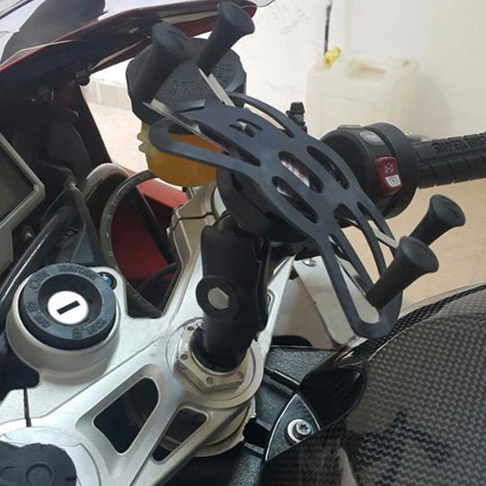 Pemegang Telepon Usb Charger untuk Suzuki GSXR600 GSXR750 GSXR1000 Hayabusa Gsxr 600/750/1000 Sepeda Motor Gps Navigasi Braket