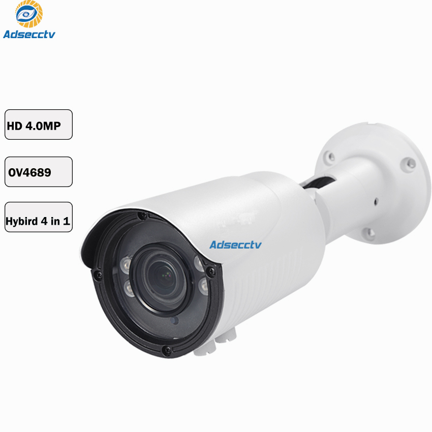 4MP AHD Metal Housing Outdoor Bullet Waterproof Camera With 4pcs Array LED Night Vision With IR-CUT Vari-Focus Lens AR-AHD8405H44MP AHD Metal Housing Outdoor Bullet Waterproof Camera With 4pcs Array LED Night Vision With IR-CUT Vari-Focus Lens AR-AHD8405H4
