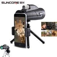 suncore Monocular Telescope 16x50 Waterproof Nitrogen Camping Hand Focus Travel Monocular for Hunting Hiking Birdwatching 168