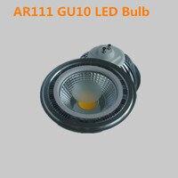 Free Shipping 2PCS Super Ar111 GU10 COB 15W Dimmable LED Bulb COB LED Spot Light 85