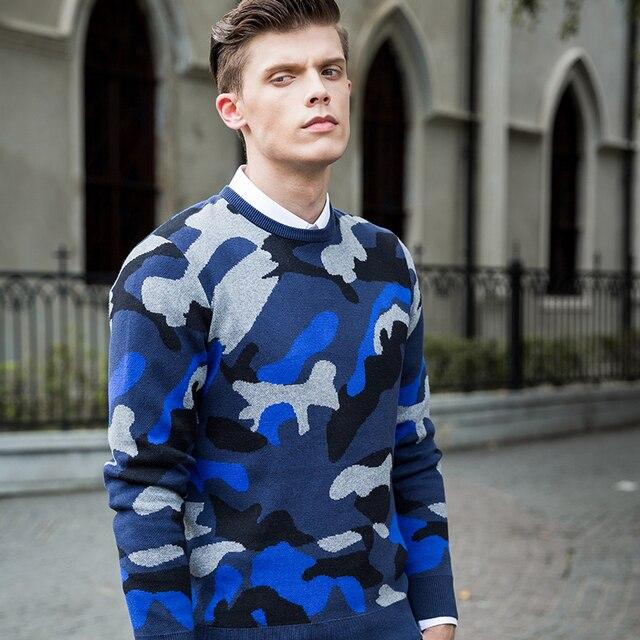 2016 camisola da moda designer de marca lazer hop camuflagem impresso pullovers