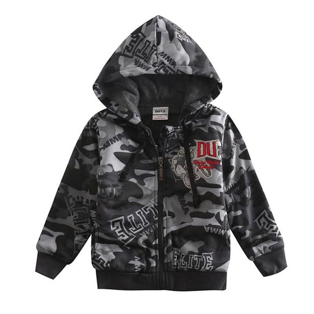 Уголь куртки для мальчиков Пальто и пуховики детская верхняя одежда зима новый год худи для мальчиков спортивные костюмы Детская Хлопковая одежда