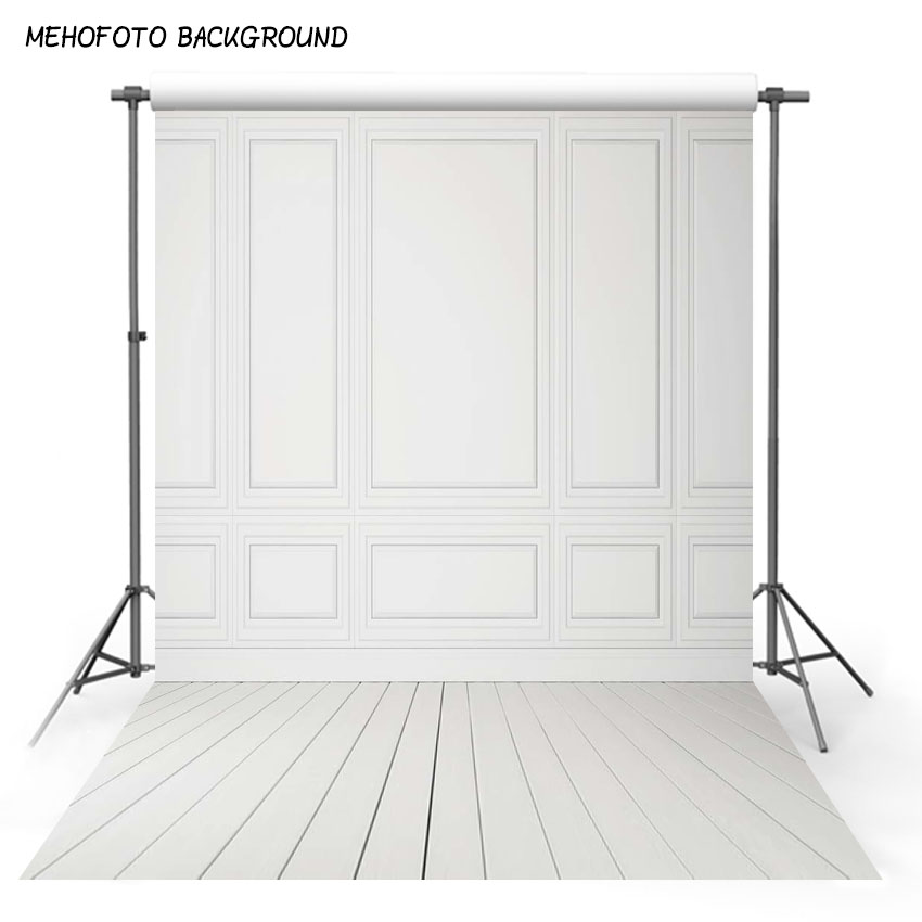 Vinyl Photography Background Wood floor and white wall Background Computer Printed Wedding backdrops for photo Studio MR-1313 1pc beautiful white wood wall background vinyl wall floor photography backdrop shooting photo studio prop 1 5x2 1m mayitr