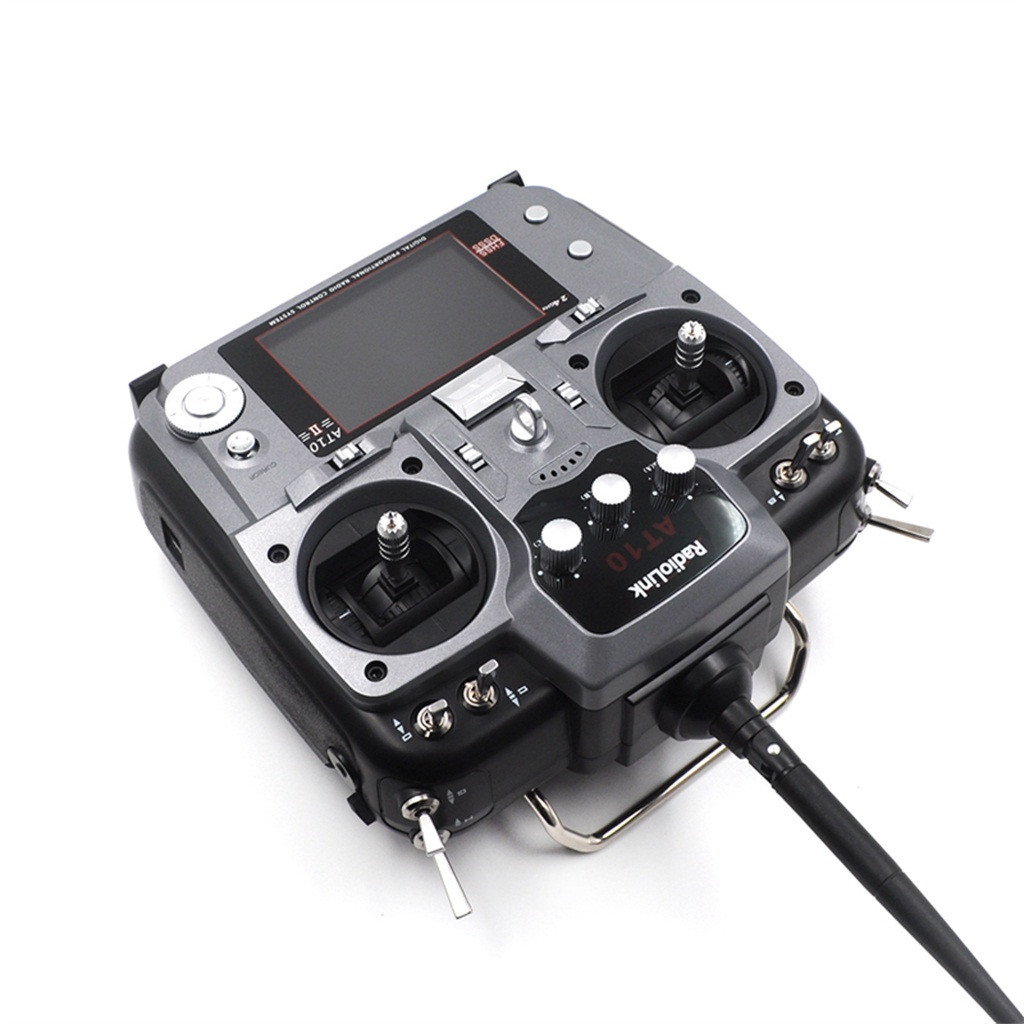 OMESHIN  At10ii 2.4 GHz Radio Link 12CH RC Remote Control Receiver And PRM Unmanned R12ds 01