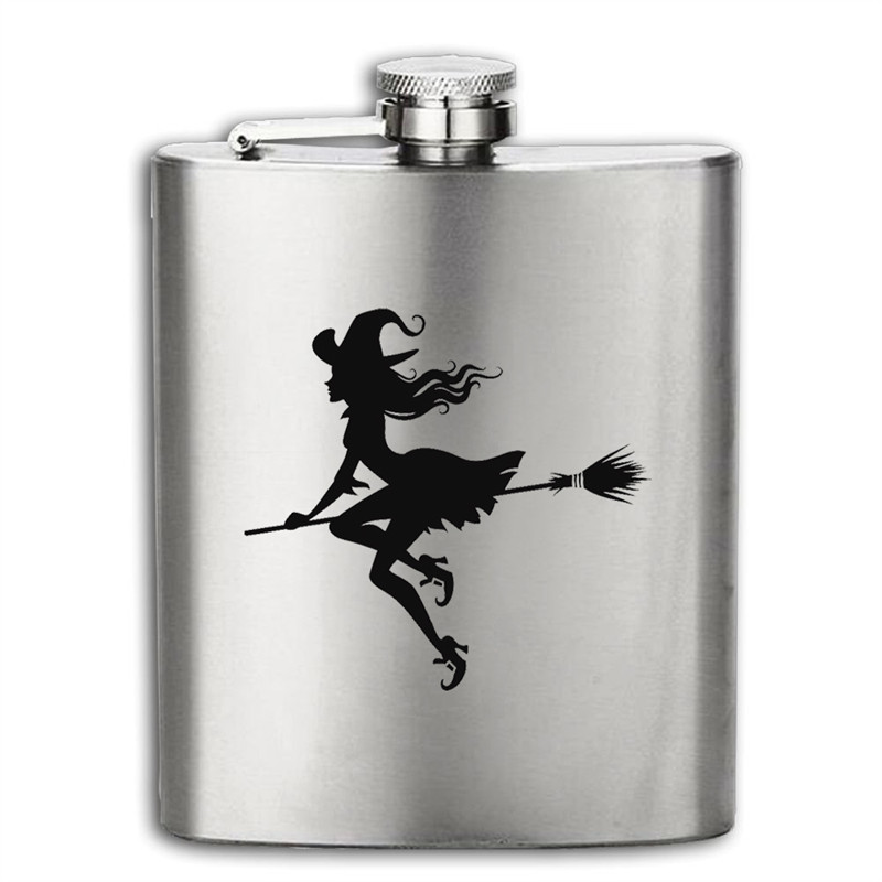 New arrival bpa free 7oz whisky Imprint flagon cccp Stainless steel alcohol hip flask Easter gift