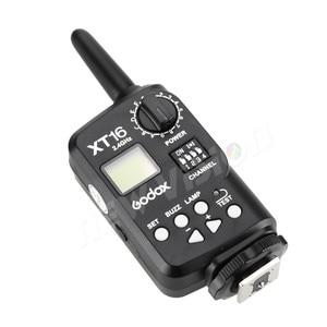 Image 4 - Godox XT 16 무선 2.4G 플래시 송신기 스튜디오 플래시 (송신기 전용)
