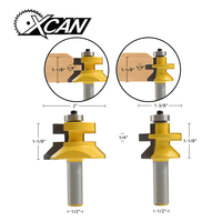 XCAN 1 2 Shank Router Bit For Woodworking Woodruff Keyseat Milling Cutters Tongue Groove And V