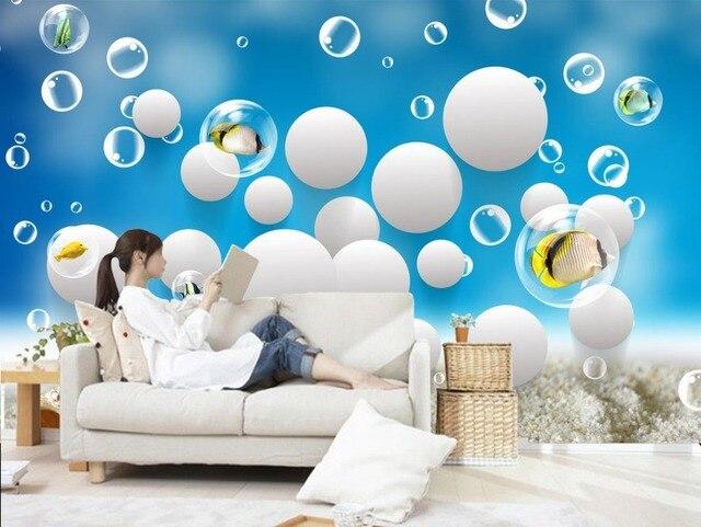 Ocean sea wrold Home Decoration Mural 3d wallpaper 3d wall papers ...