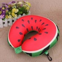 Fruit U-Shaped Comfortable Soft Cushion Neck Travel Pillow