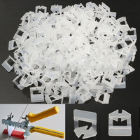 200 400 800Pcs Tile Leveling System Clips Wall Floor Tile Spacers For Construction Tiling Tools
