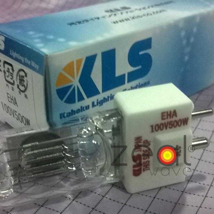 KLS EHA 100V500W Japan Halogen Bulb Machine Tool Light,OHP Projector,100V 500W Line Voltage Projection Lamp jcd 100v 650w cl projection halogen lamp 100v650w enlarger photo photographic bulb free shipping