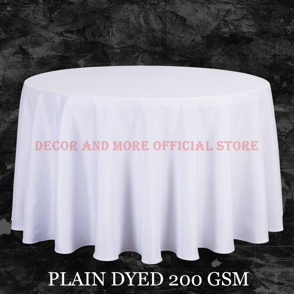 Groovy Us 17 84 15 Off Big Size Polyester White Round Table Cloth Wedding Tablecloth Party Table Cover Square Dining Table Linen Rectangular Wholesale In Download Free Architecture Designs Scobabritishbridgeorg