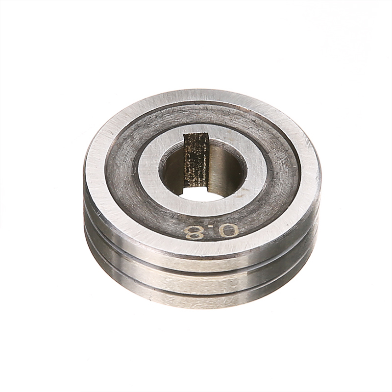 1 Pc Draht Feed Roller Hohe Präzision 10mm 0,6x0,8 MIG Schweißer Draht Feed Stick Roller Rolle Kunrled -nut. 030