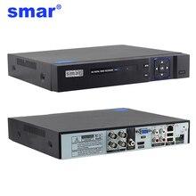 Smar 1080P 4, 8 канальный 4, 8CH видеонаблюдения Регистраторы 5 в 1 Onvif CCTV AHD DVR AHD-H Гибридный видеонаблюдения Системы для AHD CCTV IP Камера