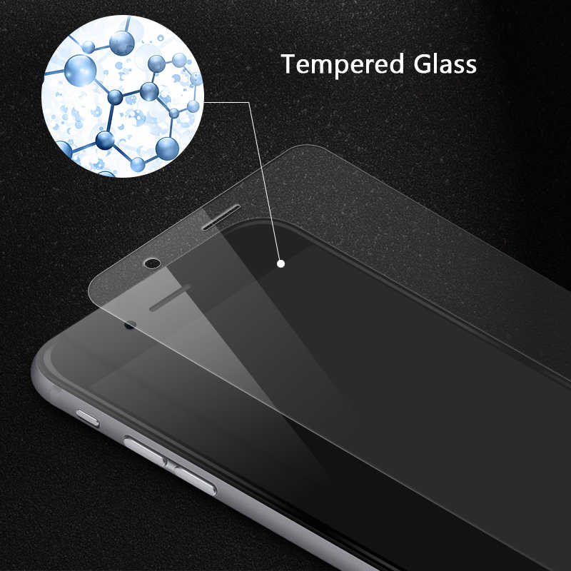 2.5D حامي الشاشة ل شاومي Redmi 9 الزجاج ل Redmi 9A 9C 8 7A 10X برو نوت 9 9S 8 برو الزجاج المقسى فيلم الهاتف واقية