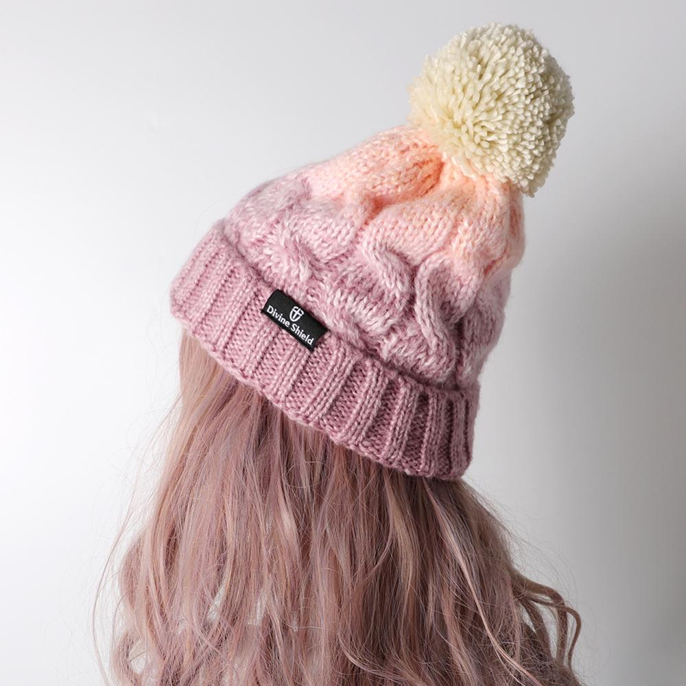 Skullies     Beanies     Beanie   Cotton Knitted   Skullies   Woolen Hat Casual Solid Color Bonnet   Beanie   7 colors