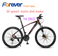 FOREVER High Quality Mountain Bike 30 Speed Aluminum Alloy Frame Can Be Locked Hydraulic Brake Bicycle