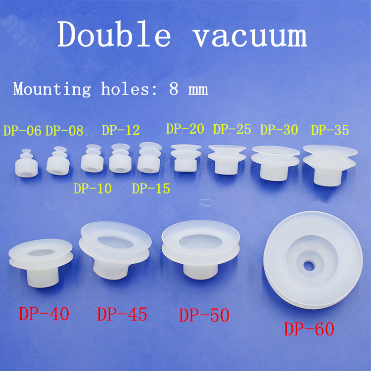 oil resistant wear resistant DP series sucker vacuum suction cup SMC wonderful suction cup clear white water resistance vacuum equipment suction cup sucker