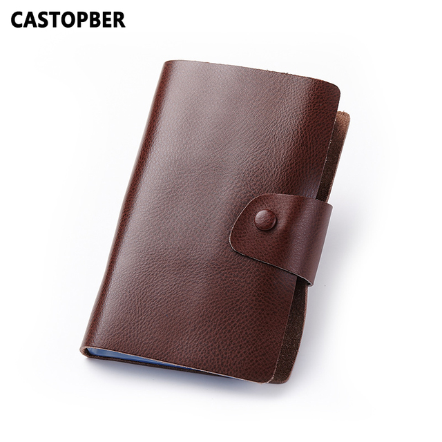 120 Cards Slots High Capacity Business Card Holders Credit ID Holder For Women Split Cowhide Leather High Quality Famous Mens