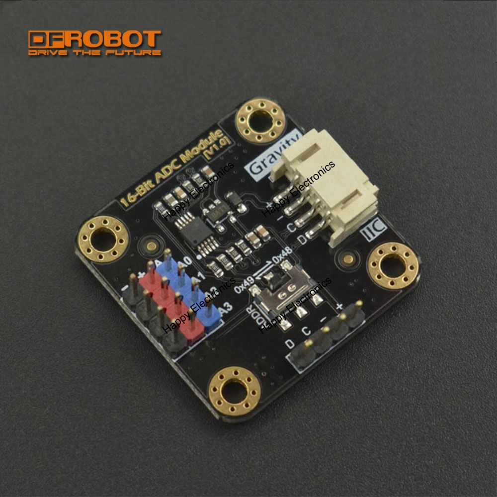 Dfrobot Gravity I2c 280 Barometer Sensor 33v 5v Lower Power Signal Conditioner Ads1115 16 Bit Adc Module Ad Analog Converter 33