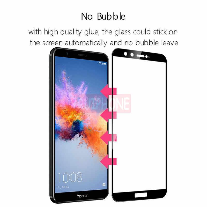 Cobertura completa Protetor de Tela de Vidro Temperado Para Huawei P10 P20 Lite P8 P9 Lite 2017 Companheiro 3 10 Pro Nova 3i Para Honra 10 Temperado