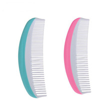 High Quality 2018 Safety NewBorn Baby Hair Soft Brush Set Infant Comb Grooming Shower Design 2Pc/Set No BPA Included недорого