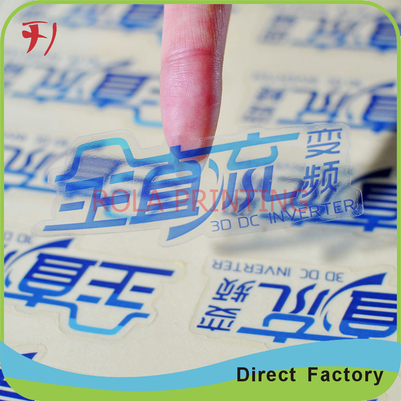 Customized        Direct manufacture customized waterproof self adhesive roll labels