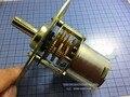 Especie de tiro 1 RPM motorreductor motorreductor 12 V Metal Gear Motor Motor tiro Tipo En stock