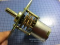 Kind shooting 1RPM gear motor gear motor 12V Metal Gear Motor Gear Motor Kind shooting  In stock